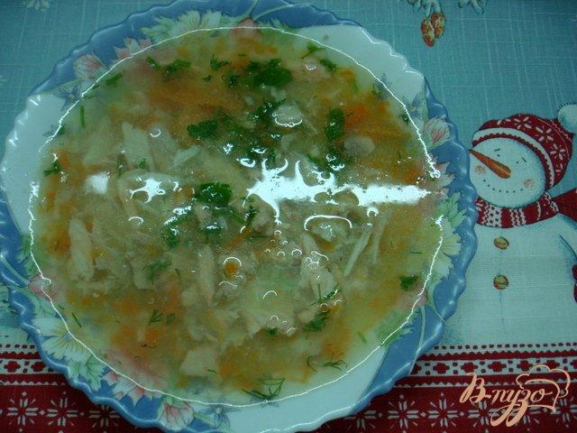 Фото приготовление рецепта: Суп пюре из головы лосося шаг №4