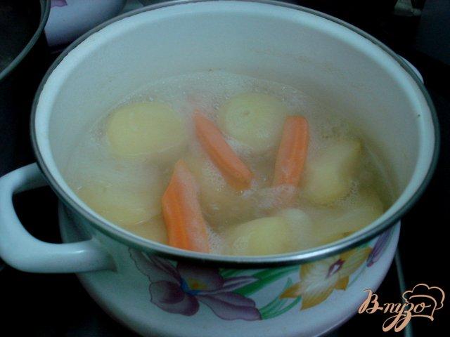 Фото приготовление рецепта: Суп пюре из головы лосося шаг №1