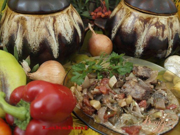 Рецепт Мясо по-грузински с овощами