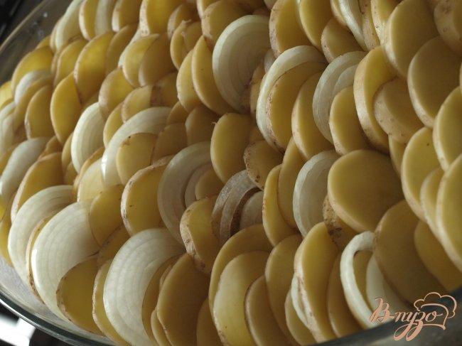 Фото приготовление рецепта: Картофельный гратин шаг №3