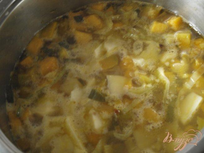 Фото приготовление рецепта: Французский тыквенный суп шаг №2