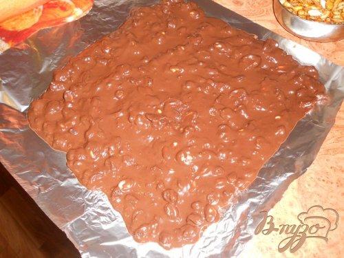 Шоколадный торт с хурмой