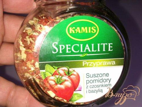 Спагетти с соусом из  горбуши