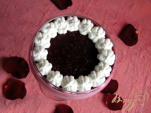Десерт Брусника на облачке
