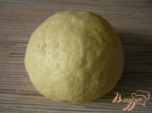 Лимонное песочное печенье