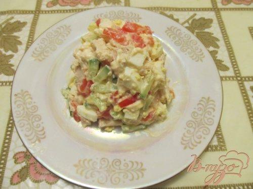 Салат с орешками