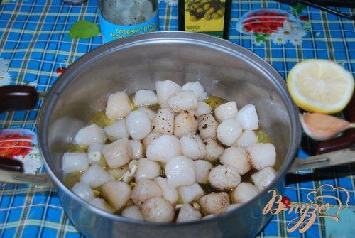 Оригинальный салат «Морской бриз»