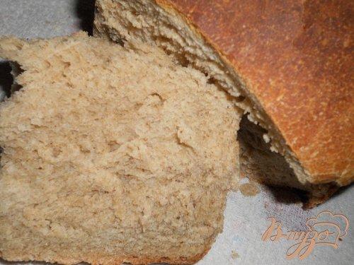 Ржанно -пшеничный хлеб