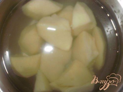 Картофельные котлеты с мясной начинкой
