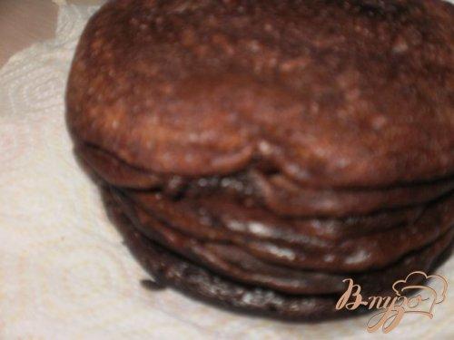 Шоколадные блинчики с шоколадным соусом