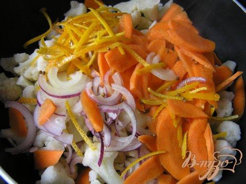 Апельсиновая капуста от Армана Арналя