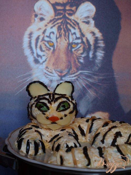 """Салат """"Белый тигр"""""""