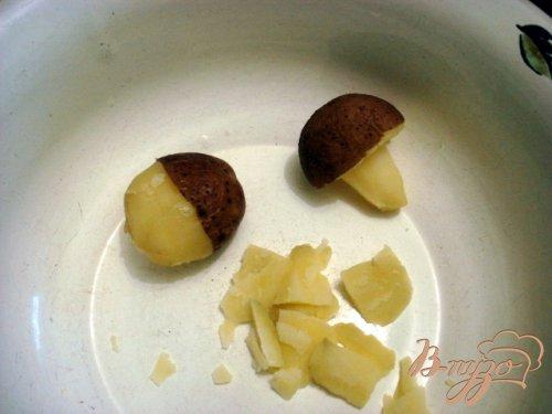 Грибочки из картофеля