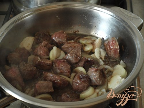Мясо по-грузински с овощами