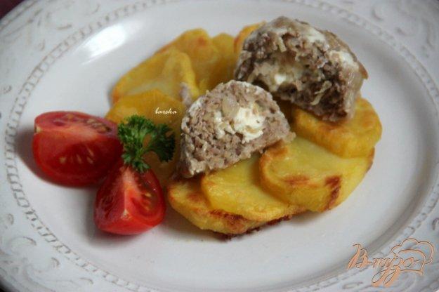 Рецепт Мясные фрикадельки с сыром фета