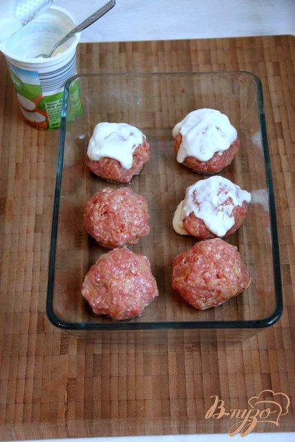 Мясные фрикадельки с сыром фета