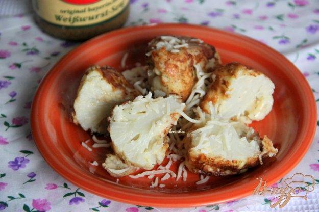 Рецепт Цветная капуста в сырно-горчичном кляре