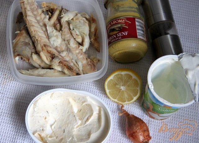 Фото приготовление рецепта: Мусс из скумбрии горячего копчения шаг №1