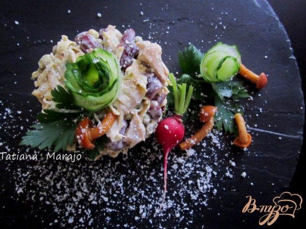 фото рецепта: Салат из яичных блинчиков