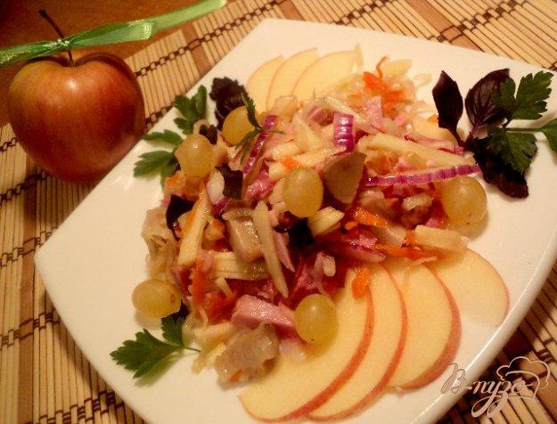 Оригинальный салат рецепт пошагово