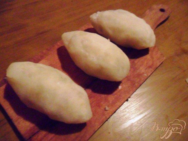 Фото приготовление рецепта: Картофельные зразы с куриным мясом шаг №4