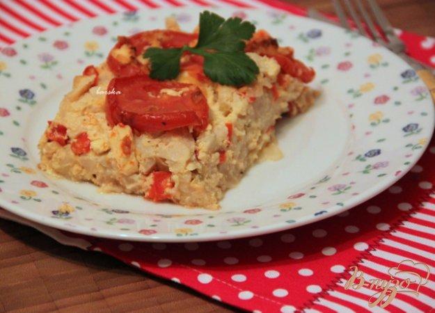 Рецепт Запеканка из цветной капусты с брынзой
