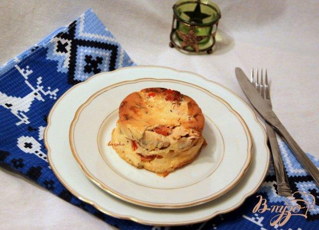 Рецепт Фриттата-перевертыш с курицей