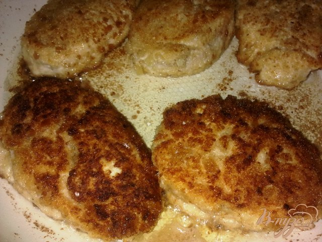 Фото приготовление рецепта: Котлетки куриные шаг №10