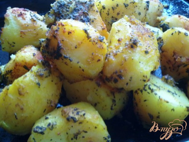 Рецепт Запеченная, пряная картошка