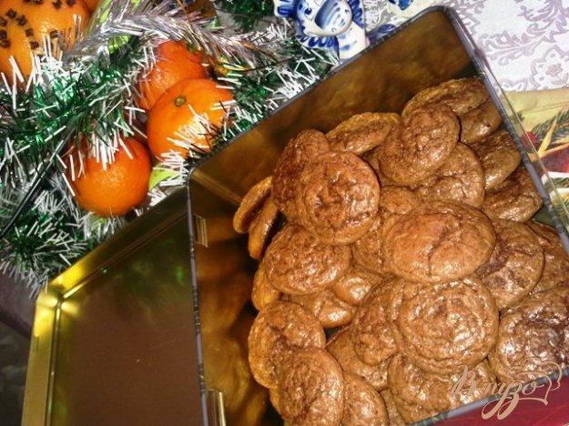 фото рецепта: Шоколадно- ореховое печенье