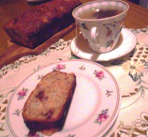 Рецепт Миндальный кекс с грушей и шоколадом
