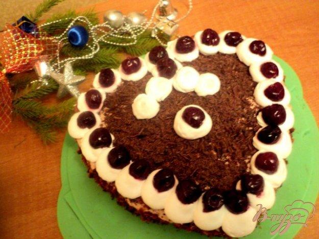 Торт «Вишня в шоколаді». Як приготувати з фото