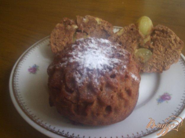 Рецепт Шоколадные кексы с виноградом