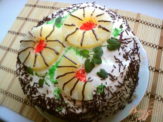 Торт сметанний. Як приготувати з фото