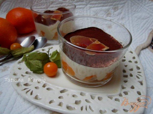 Рецепт Десерт с мандаринами