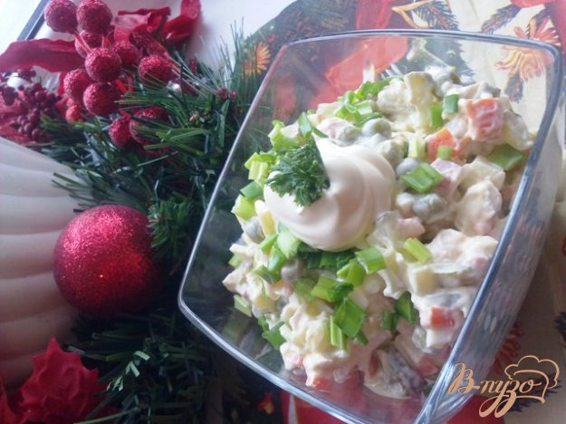 Рецепт Любимый салат «Столичный»