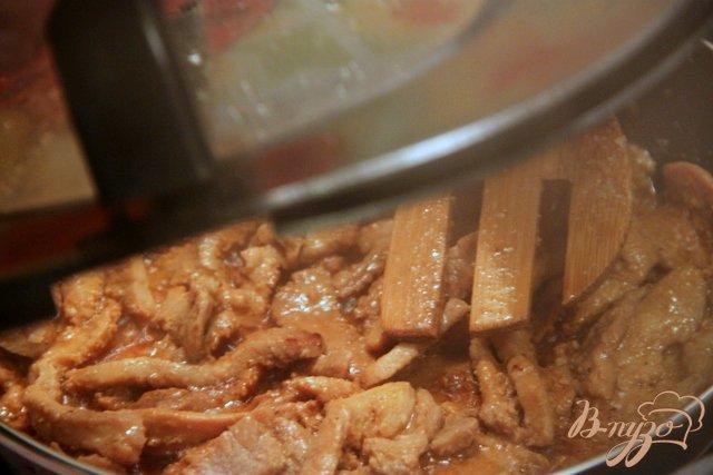 Фото приготовление рецепта: Свинина в корейском стиле шаг №6