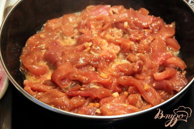 Фото приготовление рецепта: Свинина в корейском стиле шаг №5