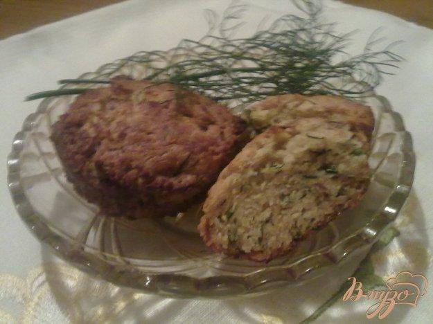 Рецепт Сырные кексы с укропом и тмином