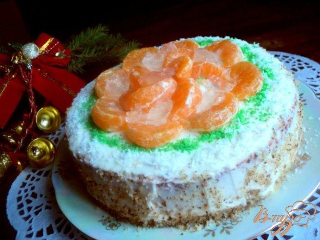 Рецепт Торт «Мандарины на льду»
