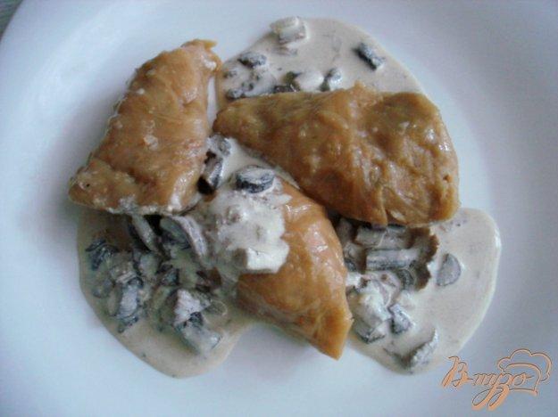 Рецепт Голубцы с мясом и грибами