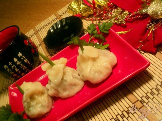 Фото приготовление рецепта: Китайские пельмени «Цзяоцзы» шаг №6