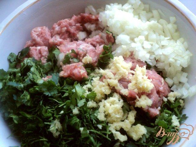 Фото приготовление рецепта: Китайские пельмени «Цзяоцзы» шаг №1