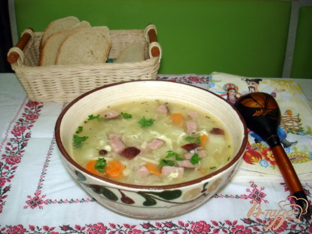 Рецепт Крестьянский суп *Затируха*