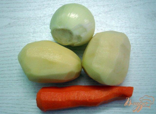 Фото приготовление рецепта: Крестьянский суп *Затируха* шаг №1