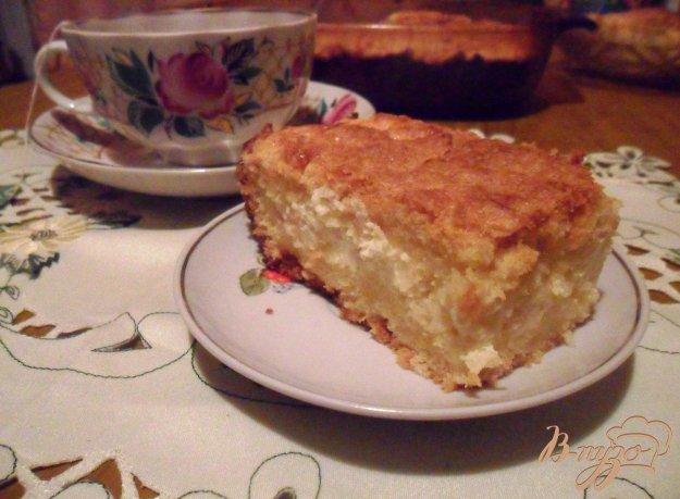 """Рецепт Пирог с творогом и яблоками """"Нежность"""""""