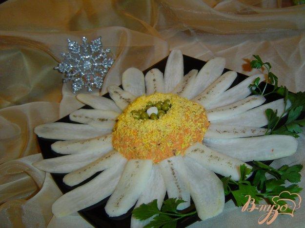 """Рецепт Салат """"Зимние цветы"""""""