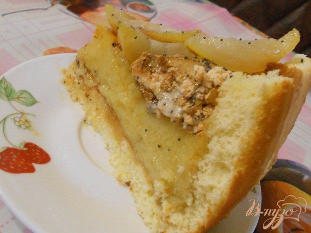 Рецепт Грушевый торт