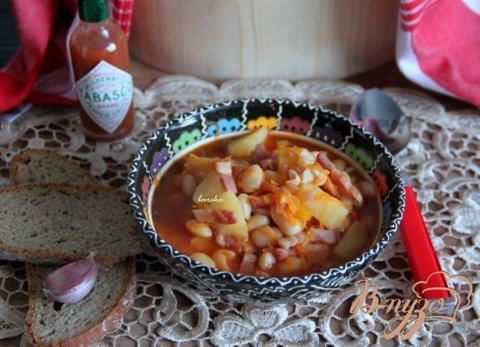 """Фасолевый суп """"Шустрый"""" с остринкой"""