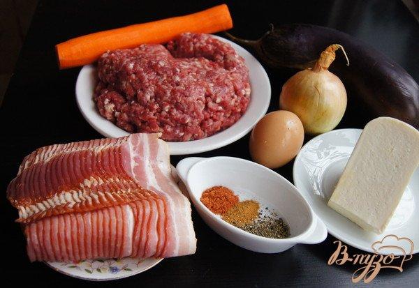 Фото приготовление рецепта: Террин мясной в беконе шаг №1